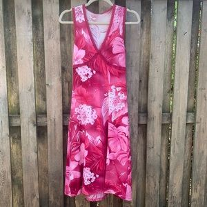 Anthropologie/ Only Hearts Pink Floral Dress